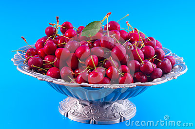 Chilled Cherries Stock Photo - Image: 25388250