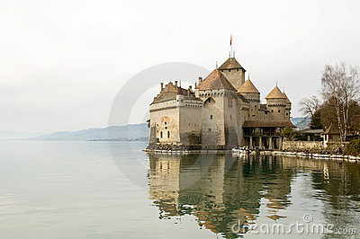 Chillion Castle on Lake Geneva