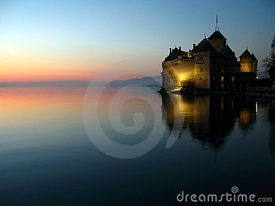 Chillon Castle 08, Montreux, Switzerland