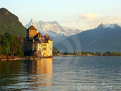 Chillon Castle 4, Switzerland