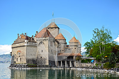 Chillon Castle at Geneva