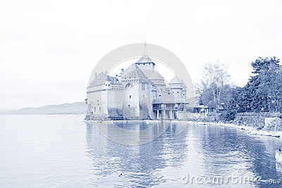 Chillon castle, Geneva (Lac Leman) Switzerland