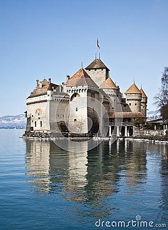 Free Chillon Castle, Geneva Lake, Switzerland Royalty Free Stock Photos - 8466698