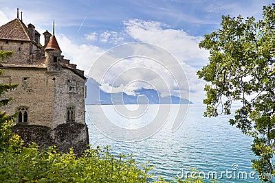 Chillon Castle in the Leman Riviera
