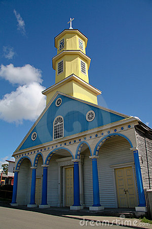 Chiloe church