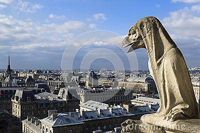 Chimere of Notre-Dame