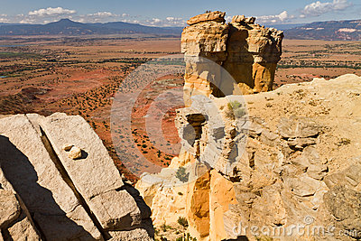 Chimney Rock, New Mexico rock formation