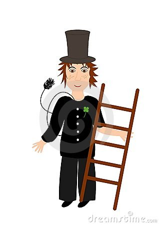 Chimney sweeper - illustration