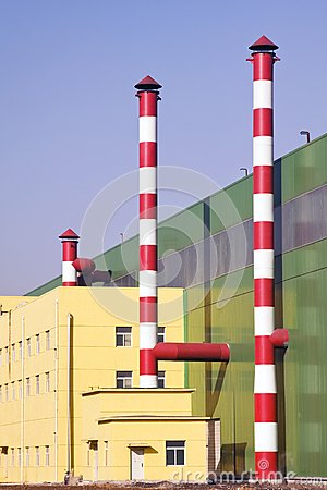 Chimneys & industrial building