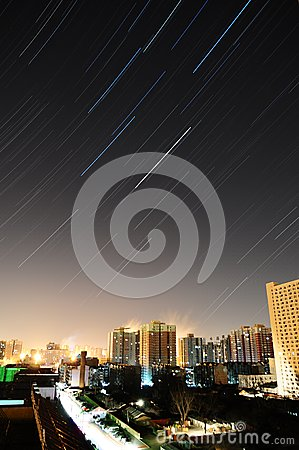 China beijing star track Editorial Photo