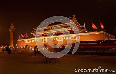 China Beijing Tiananmen Square Editorial Image