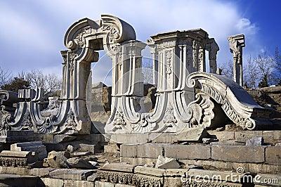 China Beijing Yuanmingyuan Ruins-Old Summer Palace