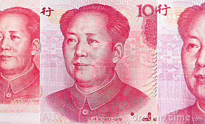 China Business yuan.