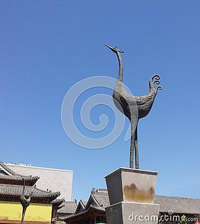 Free China Changzhi City Chenghuang Temple Stock Image - 41369171