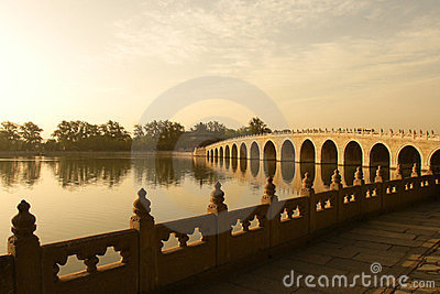 China classic arch bridge