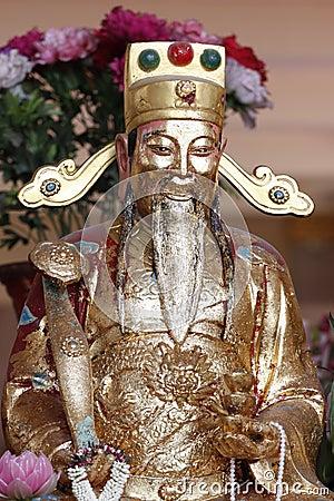 The China deity.