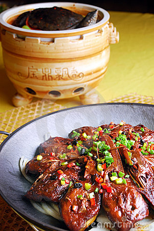 China delicious food-- soft-shelled turtle and goo