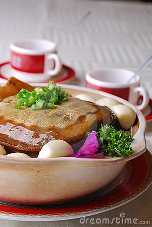 China delicious food—soft-shelled turtle