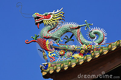 China Dragon Sculpture