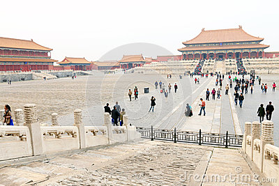 China : Forbidden City Editorial Photo