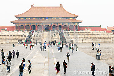 China : Forbidden City Editorial Image