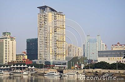 China Fuzhou Urban Editorial Stock Image