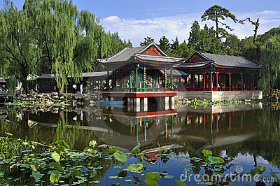 China Garden   Editorial Image