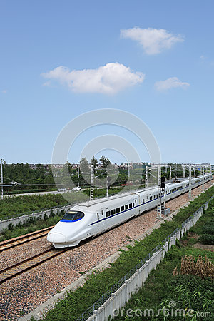 China high-speed train