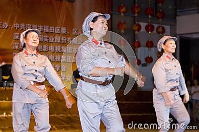 China - Indpendence Anniversary Editorial Image
