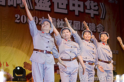 China - Indpendence Anniversary Editorial Photography