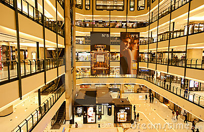 China: Isetan shooping mall  Editorial Stock Photo