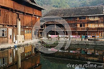 China - minority village