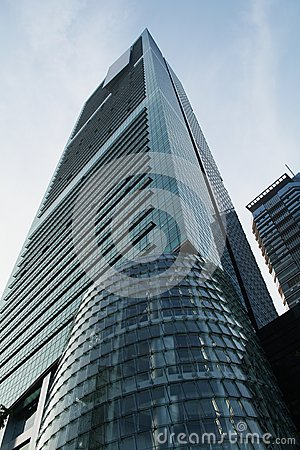 China modern skyscraper