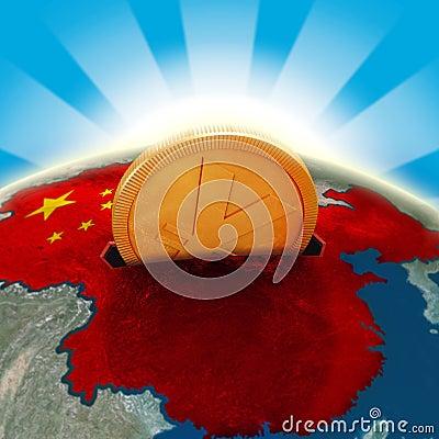Free China Moneybox Royalty Free Stock Photo - 12834995