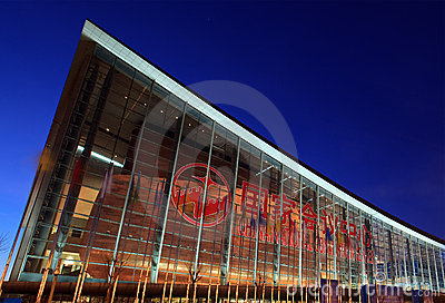 China National Convention Center Editorial Image
