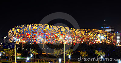 China National Olympics Stadium * Editorial Photography