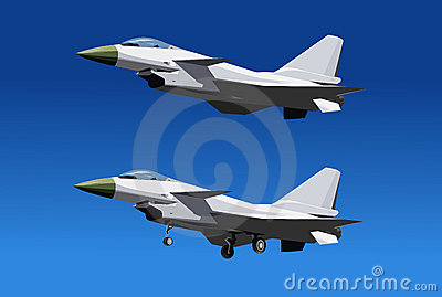 China new intercepter fighter -J-10