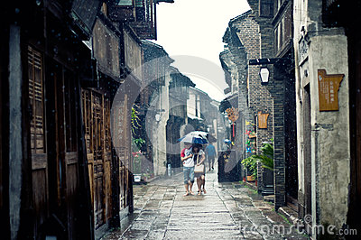 China old town Editorial Photography