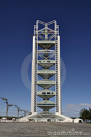 China Olympic Park TV Tower in Beijing Editorial Image