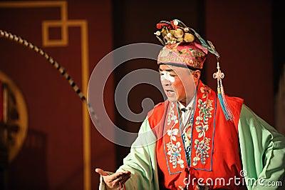 China opera clown