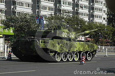 China pla tank Editorial Photography