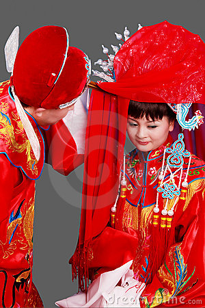 China s ancient wedding.