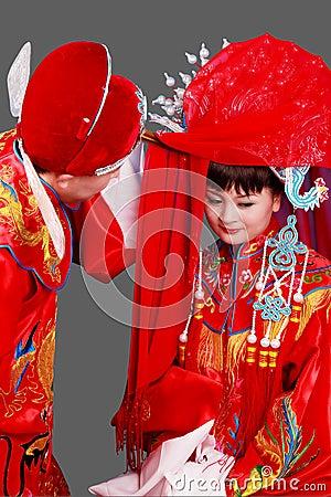 China s ancient wedding.