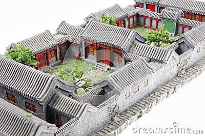 China s courtyard model
