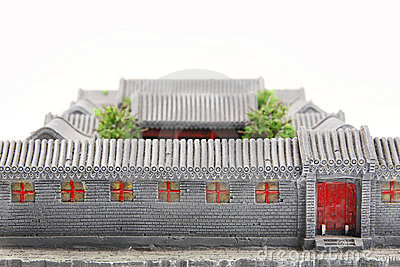 China s courtyard model