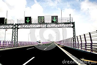 China s Hangzhou Bay Bridge