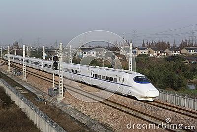 China s high-speed train