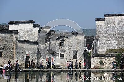 China s huang shan hong cun Editorial Photo