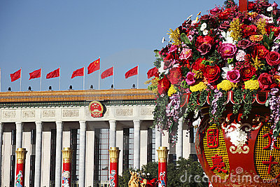 China s national day celebration Editorial Photography