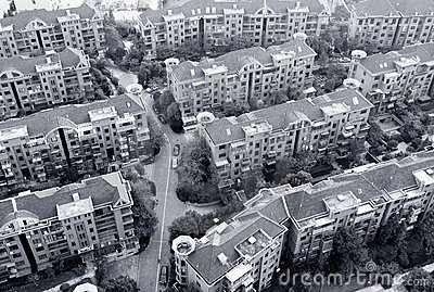 China s residential areas